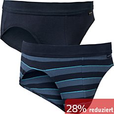 Schiesser Single-Jersey Slip im 2er-Pack