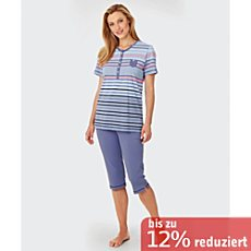 Hajo Single-Jersey Shorty mit Knopfleiste