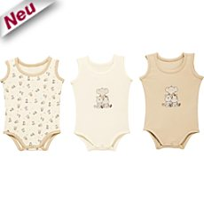 Boley Interlock-Jersey Body im 3er-Pack