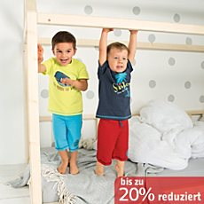 Kinderbutt Sweat Bermuda im 2er-Pack