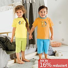 Kinderbutt Single-Jersey Shorty 4-teilig