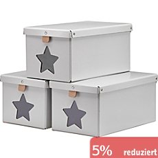 Kids Concept Pappbox im 3er-Pack