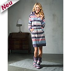 laritaM Fleece Morgenmantel