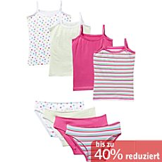 Kinderbutt Single-Jersey Unterwäsche-Set 8-teilig