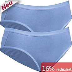 Pompadour Single-Jersey Slip im 2er-Pack