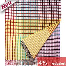 Eagle Products Lammwoll Jacquard Wohndecke