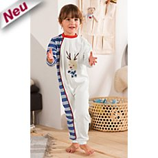 Kinderbutt Interlock-Jersey Overall