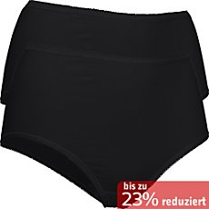 Pompadour Single-Jersey Taillenslip im 2er-Pack