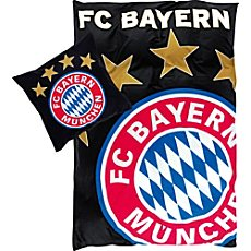 FC Bayern Linon Bettwäsche Glow in the Dark