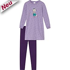 Schiesser Single-Jersey Nachthemd mit Leggings