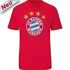 FC Bayern Single-Jersey T-Shirt