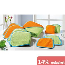 Baby Butt Walk-Frottier-Set 7-teilig