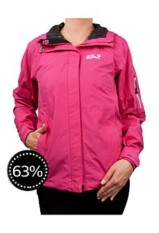 Protest Funktionsjacke pink