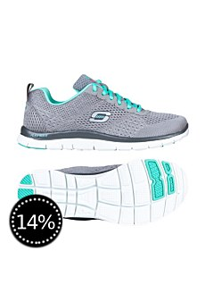 Skechers Damen Laufschuhe Flex Appeal Obvious Choice