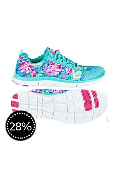 Skechers Damen Laufschuh Flex Appeal - Wildflowers