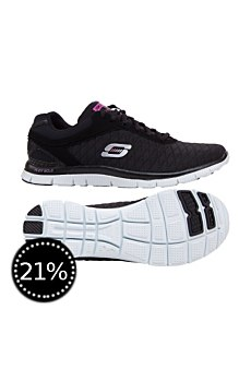 Skechers Damen Laufschuhe Flex Appeal Eye Catcher
