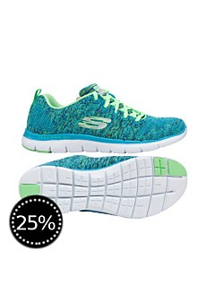 Skechers Damen Laufschuhe Flex Appeal 2.0 High Energy