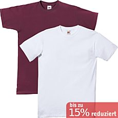 Fruit of the Loom T-Shirt, 2er-Pack für Sie & Ihn