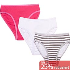 Kinderbutt Interlock-Jersey Slip im 3er-Pack