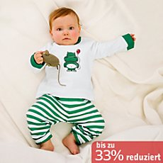 Kinderbutt Interlock-Jersey Set 2-teilig
