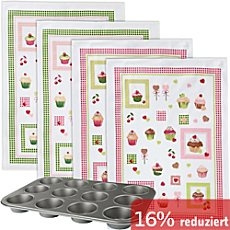 Muffins-Backform-Set 5-teilig