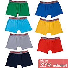 Kinderbutt Shorts im 7er-Pack
