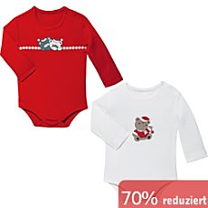 Jacky Baby Interlock-Jersey Baby-Body im 2er-Pack