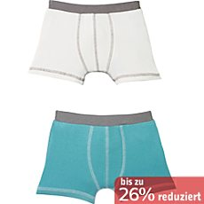 Erwin Müller Single-Jersey Jungen-Shorts im 2er-Pack