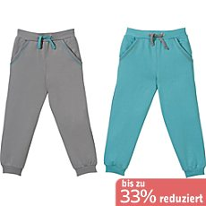 Erwin Müller Sweat Kinder-Jogginghose im 2er-Pack