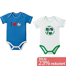 Baby Butt Interlock-Jersey Body Kurzarm im 2er-Pack