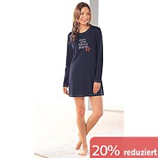 Schiesser Single-Jersey Damen-Nachthemd