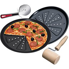 Pizza-Set 4-teilig
