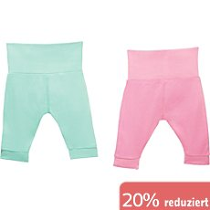 Boley Interlock-Jersey Baby-Hose im 2er-Pack