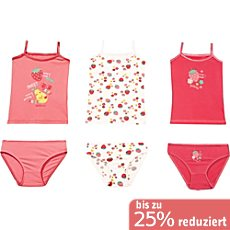 Kinderbutt Single-Jersey Unterwäsche-Set 6-teilig