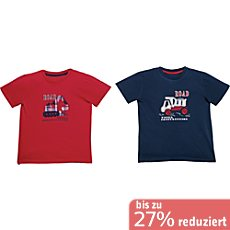 Erwin Müller Single-Jersey Kinder-T-Shirt im 2er-Pack