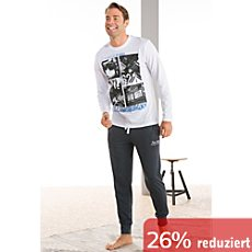 Tom Tailor Mix & Match Single-Jersey Herren-Langarmshirt