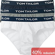 Tom Tailor Single-Jersey Slip im 3er-Pack