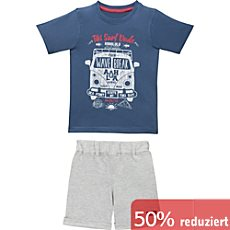 Blue Seven Single-Jersey Kinder-Set 2-teilig