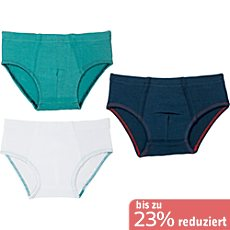 Kinderbutt Single-Jersey Slip im 3er-Pack