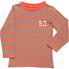 Kinderbutt Single-Jersey Langarmshirt