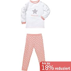 Kinderbutt Single-Jersey Schlafanzug