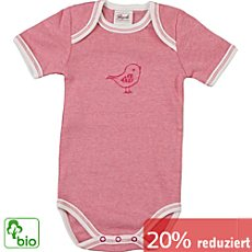 People Rippstrick Bio Baby-Body Kurzarm
