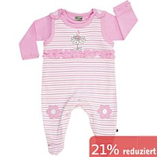 Jacky Single Jersey Strampler-Set 2-teilig
