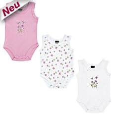 Boley Interlock-Jersey Body, ohne Arm im 3er-Pack