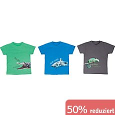 Erwin Müller Single-Jersey Kinder-T-Shirt im 3er-Pack