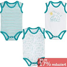 Erwin Müller Interlock-Jersey Body ohne Arm im 3er-Pack