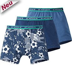 Schiesser Single-Jersey Shorts im 3er-Pack