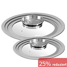 STONELINE® Glasdeckel 2er-Set