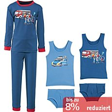 Kinderbutt Single-Jersey Wäsche-Set 6-teilig
