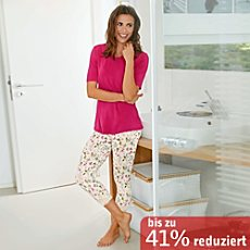Nina von C. Single-Jersey Caprihose